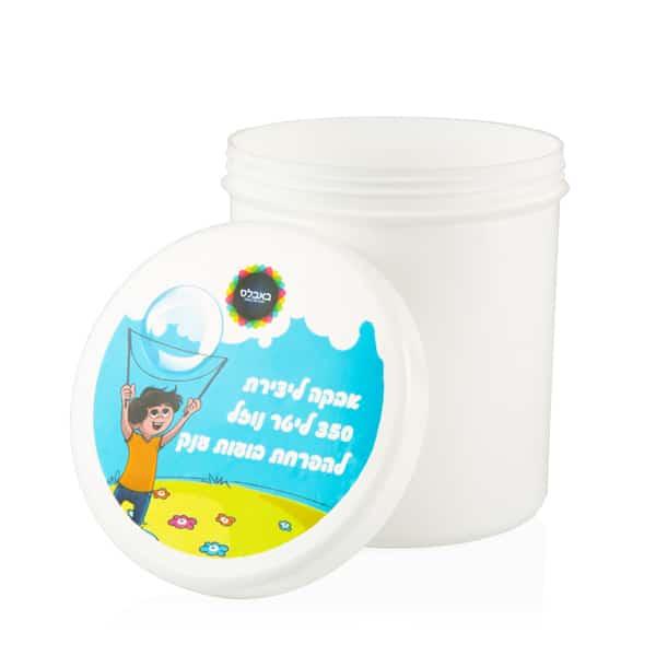 אבקת בועות סבון 350 ליטר