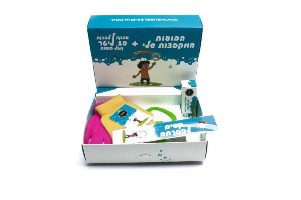 ערכת משחקי יצירה ביתית בבועות סבון ענקיות